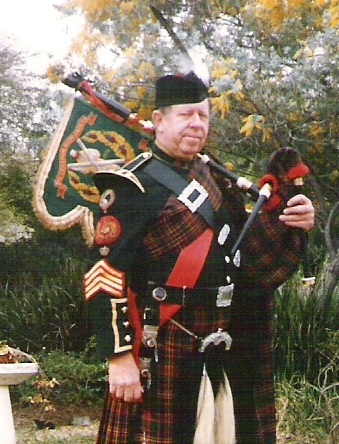 Pipe Major John H. Rosenberger